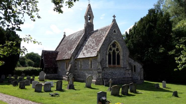East Grimstead church