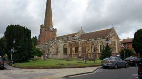 St Marys church Bridgwater