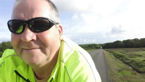 Garry McGivern cycling in the New Forest