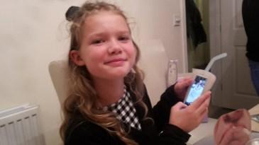 Garry's granddaughter Rubi