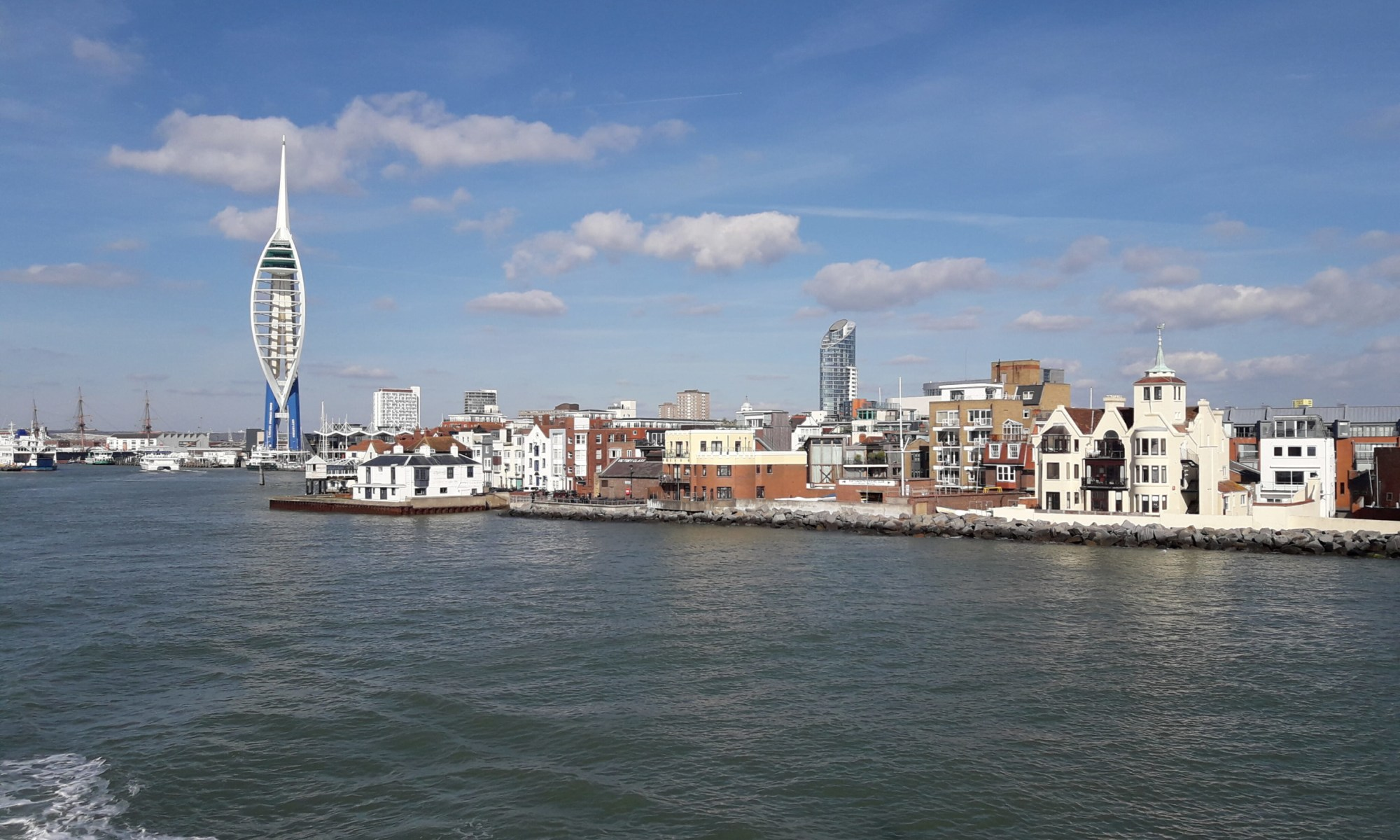 Old Portsmouth and the Spinnaker Tower