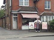 Traditional butchers shop