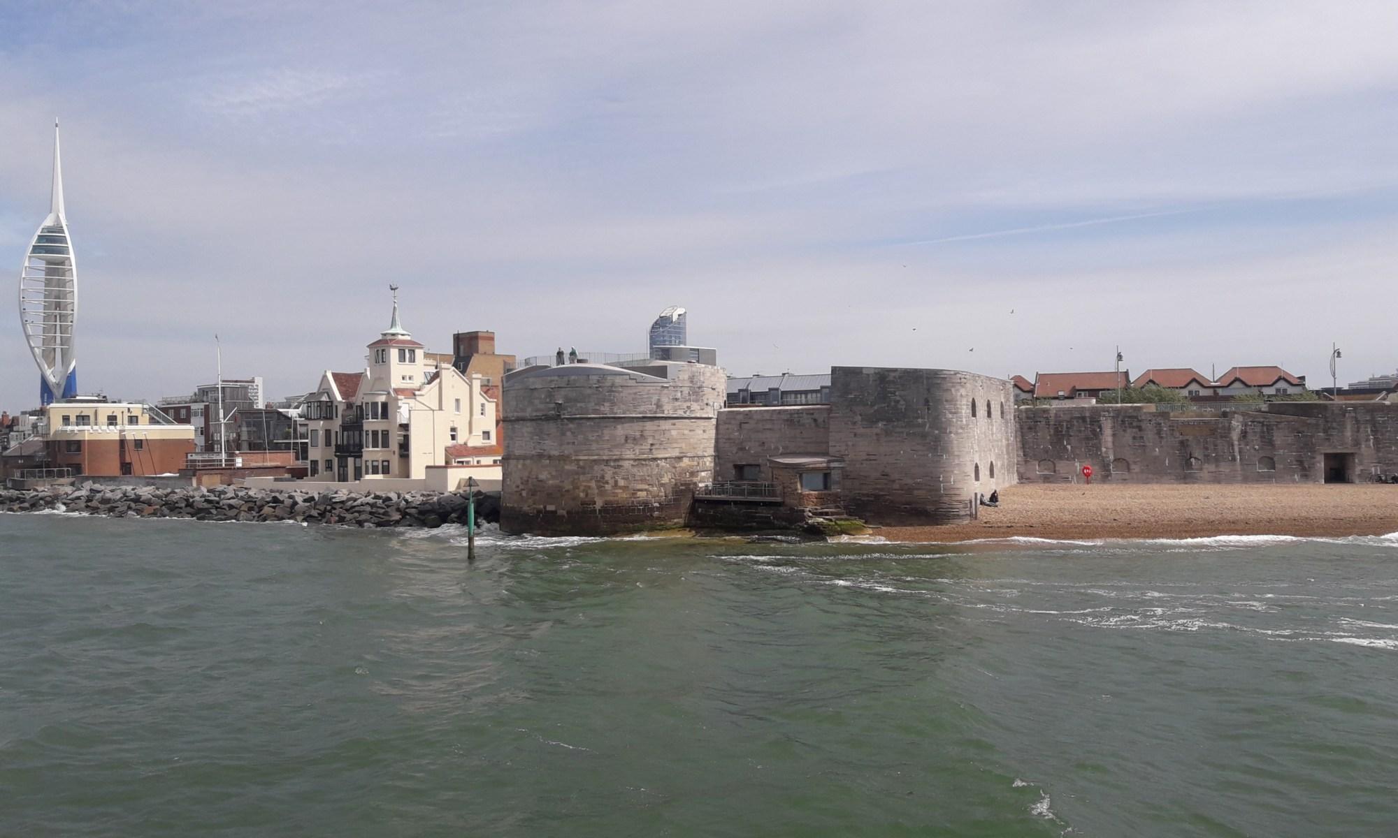 Portsmouth harbour entrance