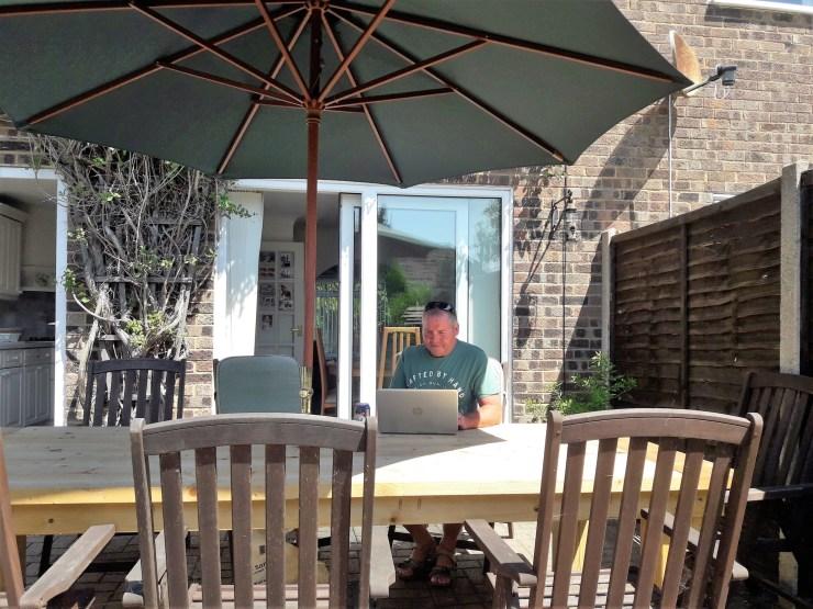Man at a table