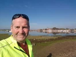Garry McGivern at Bosham quay