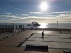 Rusting old pier