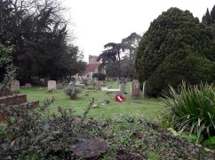 Church and grave yard