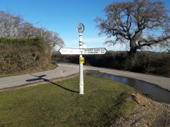 Old fashioned signpost