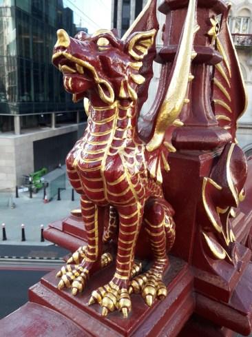 Statue of a dragon