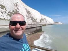 Man cliffs