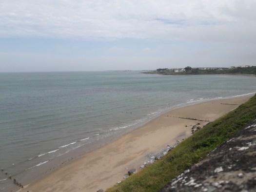 Sea beach cliff