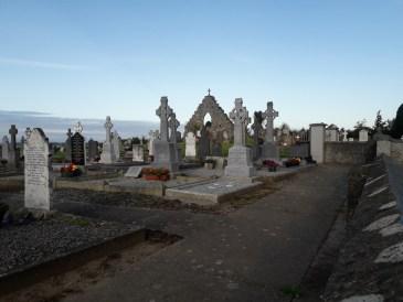 Graveyard at Lusk early this morning