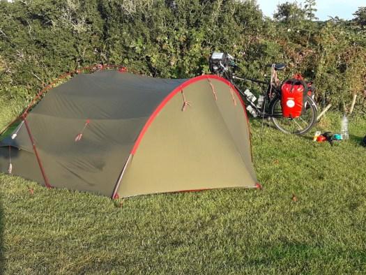 Tent bike