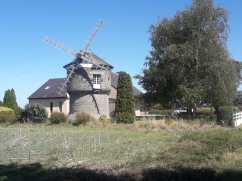 Random windmill I past this afternoon.