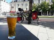 My last pint in France