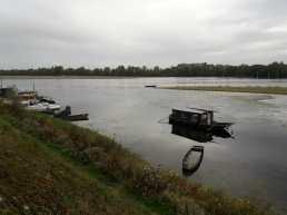 Boats along the Loire
