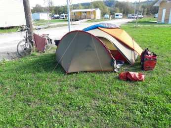 Campsite in Kembs