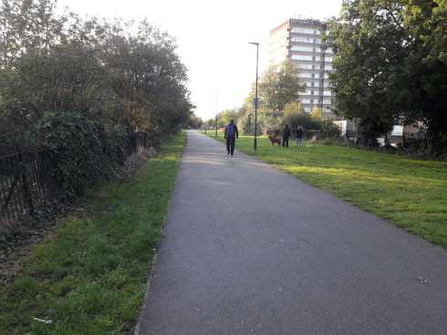 The Greenway in the centre of London