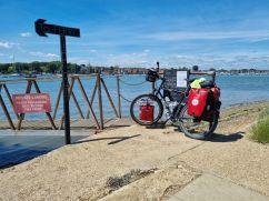 Bike by water
