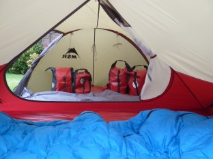 Plenty of room for both yourself and all your gear