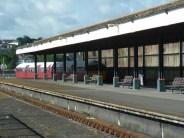 Train on Ryde pier