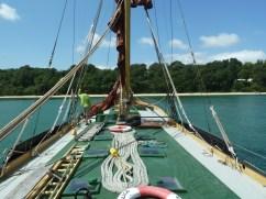 Boat at Priory Bay
