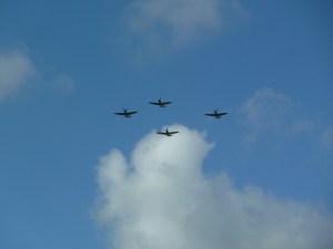 Battle of Britain memorial flypast