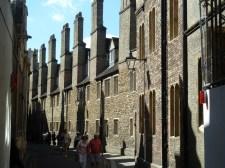 Chimneys in Trinity lane Cambridge