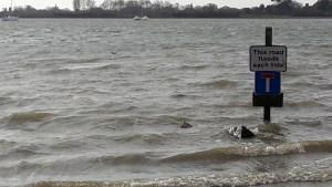 High tide in Bosham