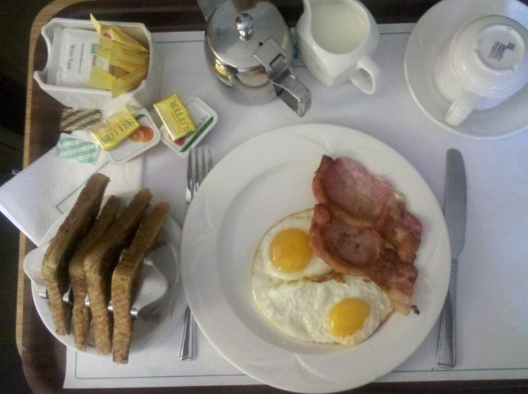 Hospital Breakfast
