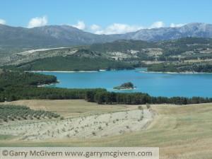 Los Bermejales Reservoir in Arenas del Rey