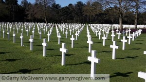 American war Cemetery at Colleville