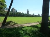Looking towards the Oval Maiden, Mumbai