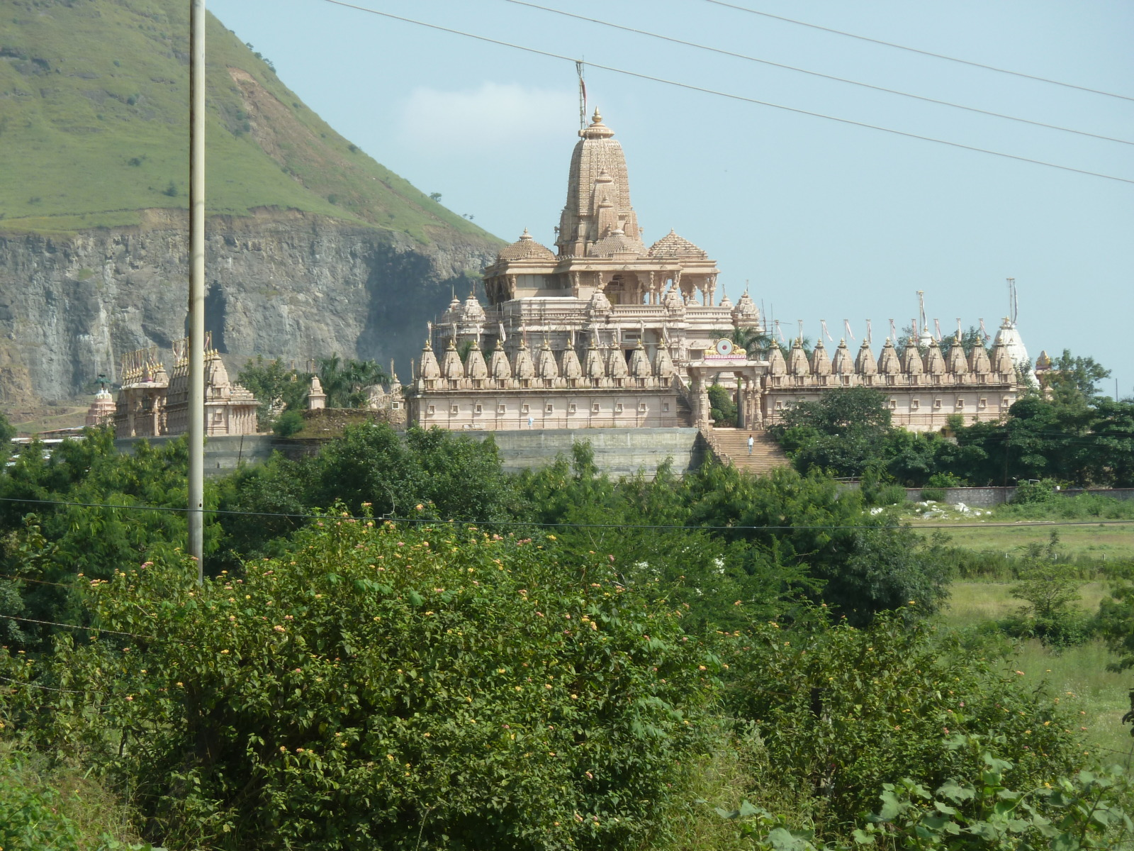 Temple along the road