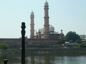 The mosque in Bhopal.