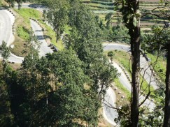 Twisting roads on the Tribhuvan Highway