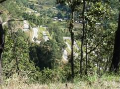 Twisting roads on the Tribhuvan Highway