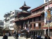 Temple on the way into Durbar Square Kathmandu