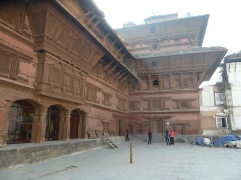 Nasel Chowk nine storey building Durbar Square Kathmandu.