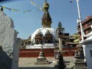 Kaathe Swyambhu ShreeGha Chaitya temple Kathmandu
