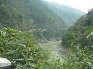 The Trishuli river