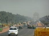 Looking towards India Gate from Raisina Hills