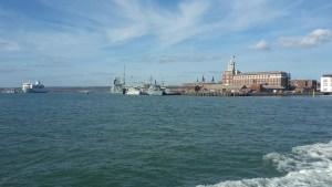 Portsmouth Naval docks