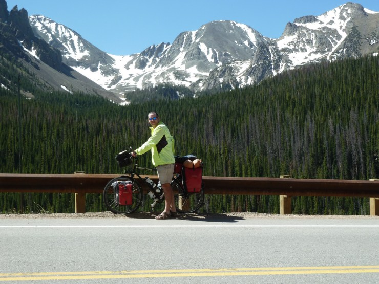 Garry McGivern in the Rocky mountains