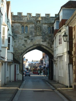 Salisbury city wall