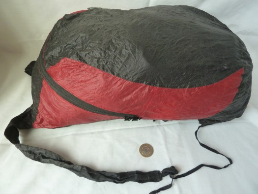 Sea To Summit travel day pack open