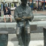 Baden Powell statue in Poole