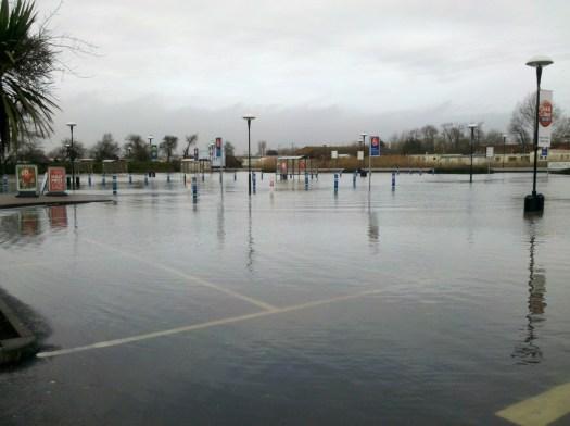 Tesco's car park