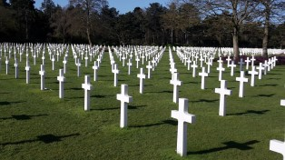 American war cemetery at Colleville-Sur-Mer