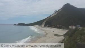 San Antolin beach.
